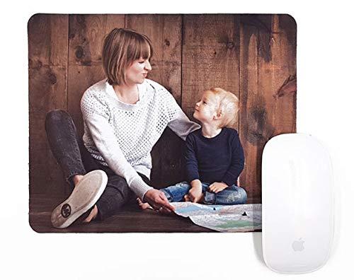Alfombrillas Personalizadas con Fotos y Texto | Máxima Calidad de impresión | Base de Goma Antideslizante y Flexible | Grosor 3 mm | 22 x 18 cm
