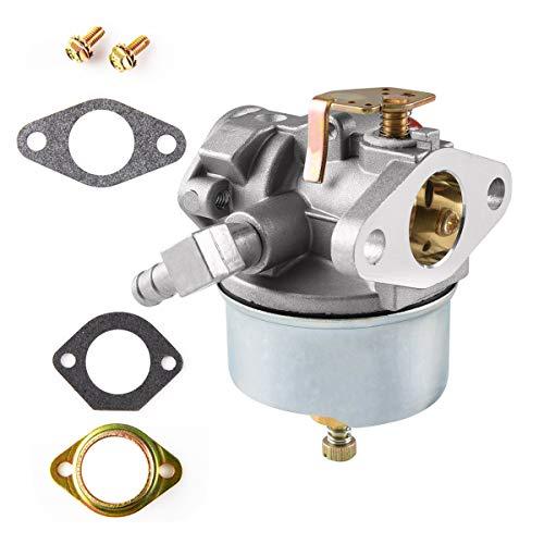 TOPINCN Sostituzione del carburatore della turbina della Neve per Tecumseh 640349 640052 640054 8HP 9HP 10HP Affidabile Tosaerba del Motore Ricambi Accessori