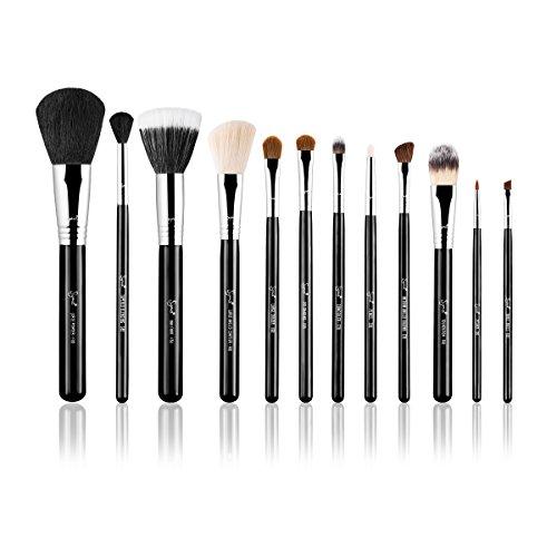 Sigma Beauty - Essential Kit - Make me Classy / Kit de 12 Brochas - Negro