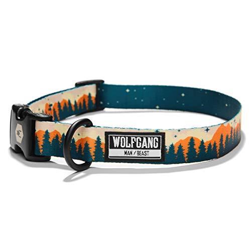 Wolfgang Man & Beast Premium Adjustable Dog Training Collar, Made in USA