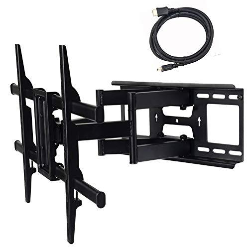 : VideoSecu Articulating Full Motion Tilt & Swivel Flat Screen LCD LED 3D TV Wall Mount Bracket for 60