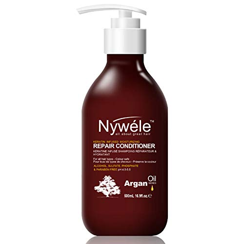 Nywele Keratin Infused Repair Conditioner 16.9oz - SULFATE, ALCOHOL, PHOSPHATE & PARABEN FREE(Color Safe) -  8136755