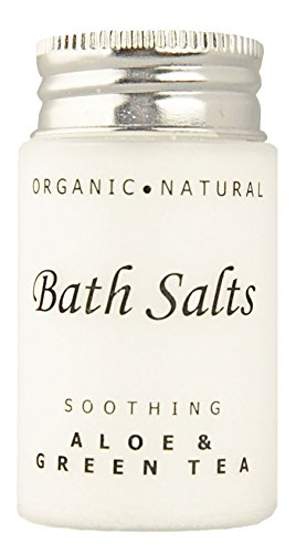 (Case of 300) Soothing Aloe and Green Tea Bath Salts, Single...
