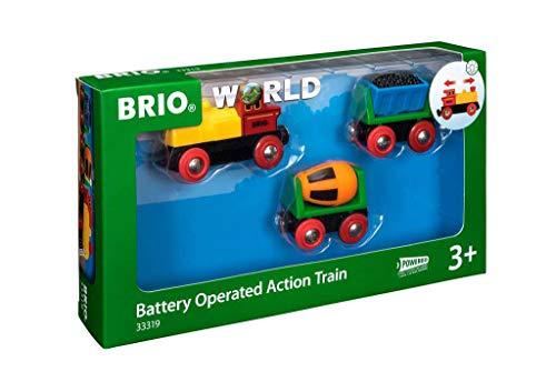 BRIO Bahn 33319 - Zug mit Batterielok