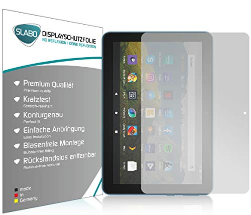 Slabo 2 x Bildschirmschutzfolie für Amazon Fire HD 8-Tablet (2020)   HD 8 Plus-Tablet (2020) Bildschirmschutz Schutzfolie Folie No Reflexion   Keine Reflektion MATT