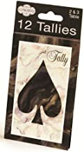 Congress Black Marble Playing Cards