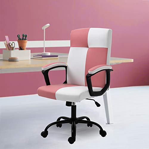 Seatingplus Home Office Desk Chair, Ergonomic Adjustable Lumbar Support Computer Chair, Task Chair...
