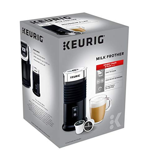 Keurig Milk Frother, Black - 062151013889