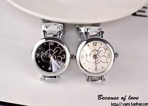 Lsv-8 - Reloj de pulsera para hombre con correa creativa para mujer Brazalete 188