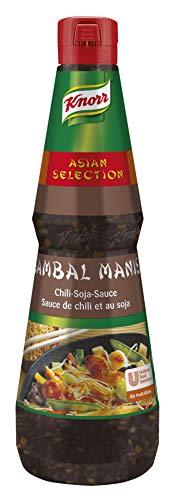 Knorr Sambal Manis Chili-Soja-Sauce (asiatische Würzsauce) 1er Pack (1 x 1 Liter)