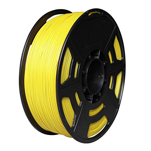Night K ASA 3D Printing Material Impact-resistant Modified Wire 1.75mm Dimensional Accuracy +/- 0.02mm,1Kg Spool Yellow