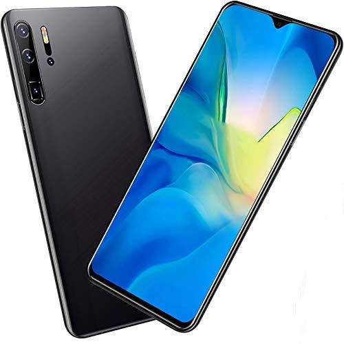 XIAOQIAO Smartphone P30Pro Mobiltelefon mit Großem Vollbildmodus, 13-MP-Frontkamera + 24 Millionen HD-Rückkameras mit Exquisitem Metallgehäuse