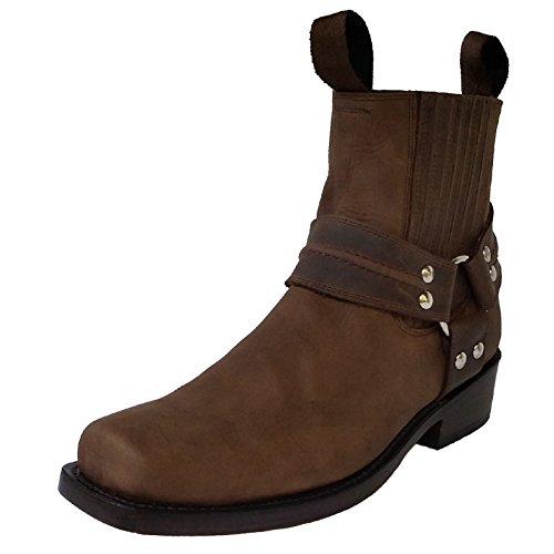 Mezcalero Ankle Biker Boots, Farbe:Choc;Größe:44
