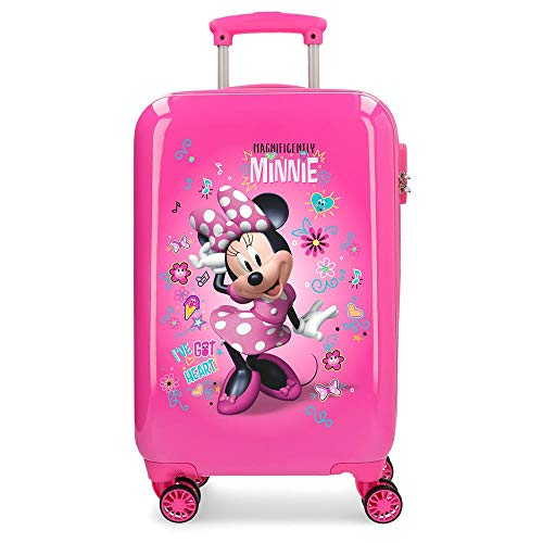 Disney Minnie Stickers Valise Trolley Cabine Rose...