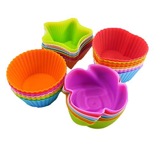 13peas muffinvormpjes siliconen bakvormen van siliconen cupcakevormen, herbruikbaar voor cupcakes, muffin, pudding cake muffinblik