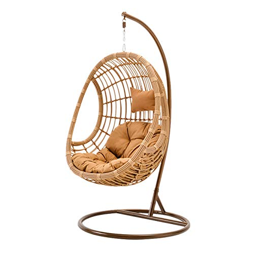 Hanging Chair, Cradle Chair,Outdoor Leisure Rattan Chair,Home Hanging Basket, Outdoor Swing Garden, Garden, Suspended Chair and Leisure