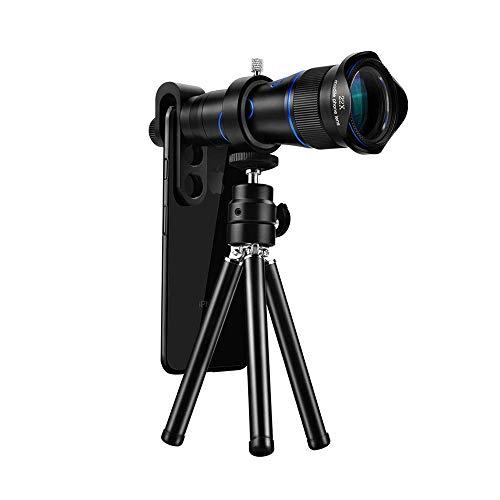 Binoculares para adultos, telescopio móvil, monocular alta gama 22 veces, fotografía deportes al aire libre, lente UV, telescopio HD para observación aves al aire libre, senderismo, vida silvestre,