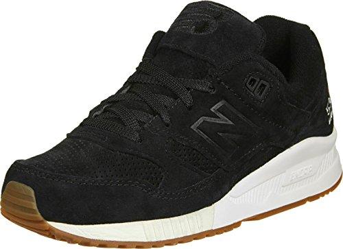 New Balance 530 Women's Shoes Size 6 Black/White