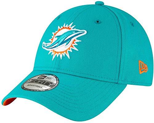 New Era Herren Miami Dolphins Kappe, Turquoise, One Size, 11803408