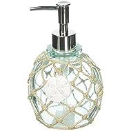 Avanti Linens Seaglass, Soap Dispenser, Multi