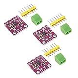 AITRIP 3 PCS MAX98357 Audio Power Amplifier Module I2S Class D Filterless Audio Amplifiers Board for Arduino, Raspberry Pi, ESP32