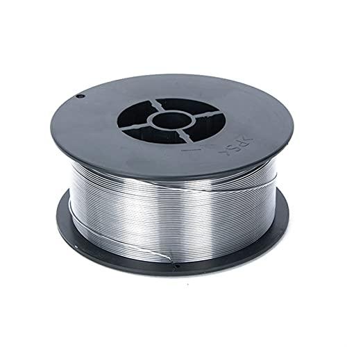 Ztengyu-Soldadura de alambre 0.8mm, alambre de núcleo de flujo con alambre de soldadura de acero inoxidable, alambre MIG sin gases E71T-GS, sin gas, para herramientas de soldador MIG Fácil de usar