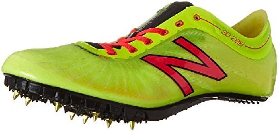 生活チョークアレンジNew Balance Women's wsd200v1 Track Shoes Yellow/Pink 9.5 B US [並行輸入品]