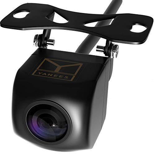 Backup Camera Night Vision - HD Car Rear View Camera - Parking GuideLines ON Off - Wide View Angel - Waterproof Reverse Auto Back Up Car Backing Camera - High Definition - Fits All Vehicles