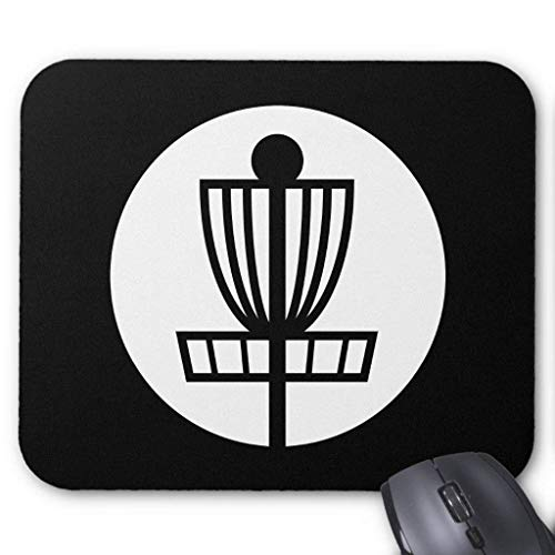 Gaming Mouse Pad, Mouse Mats Disc Golf Basket Icon Mouse Pad...