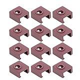 Conveniente Silicona Calcetines Calor Cuadra Cubrir, Silicona Material Hecho de Sílice Gel