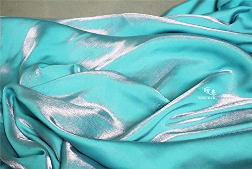 Meterware als Dekostoff- Seidensatin Hochzeit Stoff Kleid Dekorationsstoff, 0,5 M