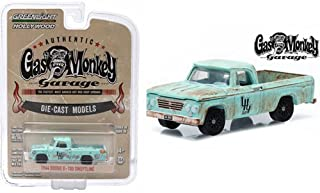 Greenlight 1/64 1964 Dodge D-100 Sweptline Gas Monkey Garage Hollywood Series 10 44700E