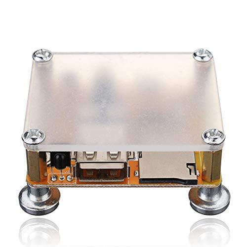 hgbygvuy DIY Tuner Audio Receptor de Amplificador Blanco Bluetooth 4.2 Módulo estéreo...