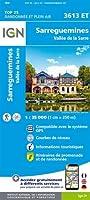 Sarreguemines-Vallée de la Sarre 1:25 000