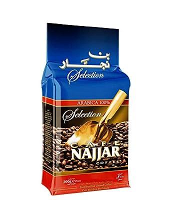 Cafe Najjar Selection Arabica 7 Ounces [200 grams]