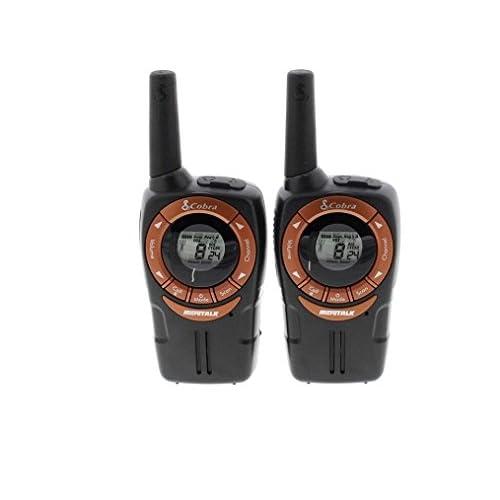 COBRA, walkie Talkie Impermeabile con VOX, avviso di Chiamata, Combinazioni di canali e Funzione di Risparmio energetico