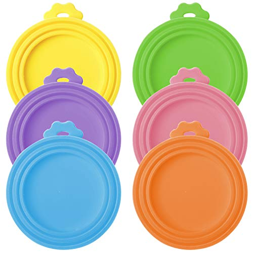 Can Lids Pet Food Can Lids,6 Pieces Universal BPA...