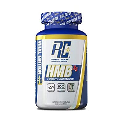 RCSS HMB-XS Fat Free Muscle Mass Faster Recovery Training Bodybuilding 100 Capsules
