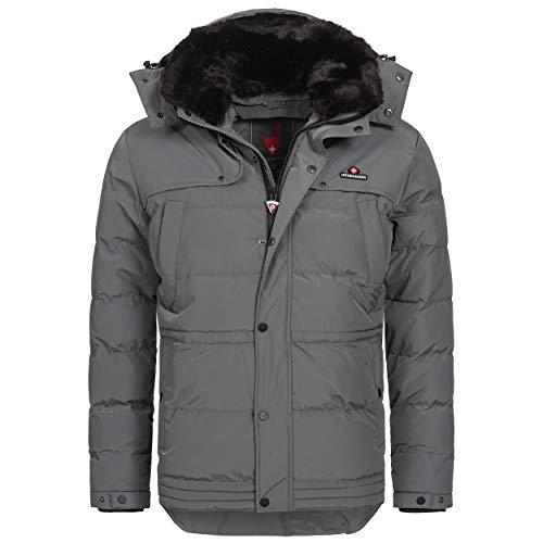 Höhenhorn Adamelo Herren Winter Jacke Grau Gr. XL