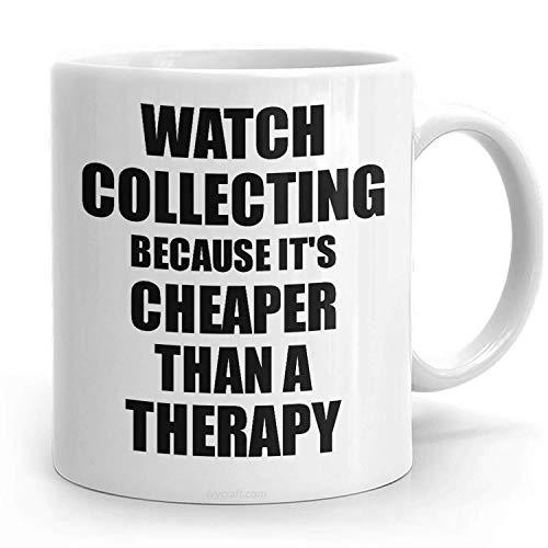 PassionWear - Taza colectora de relojes, más barata que una terapia, regalo...