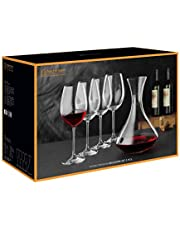 Nachtmann Vivendi Premium wijnglazen met karaf - decanteerset 5-delig