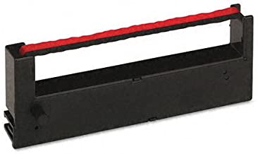 Acroprint : Ink Ribbon for Es1000 Electronic Totalizing Payroll Recorder, Red/Black -:- Sold as 2 Packs of - 1 - / - Total of 2 Each