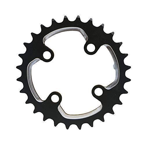 AL7075 MTB Anillo de la Cadena 64/104 BCD 28T 40T Bicicletas Chainring 2 * 10S Doble Plato Conjunto de Platos 9S 10S Bici del Camino del Juego de bielas Chainset (Color : 40T)