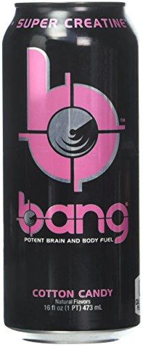 VPX Bang RTD, Cotton Candy, 16 Fl Oz (12 Count)