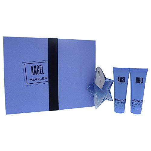 Thierry Mugler Angel femme/woman Set (Eau de Parfum, 25 ml + Körperlotion, 50 ml + Duschgel, 50 ml)