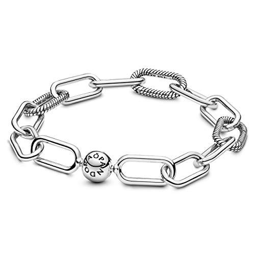 PANDORA Me Link - Pulsera de plata de ley 925