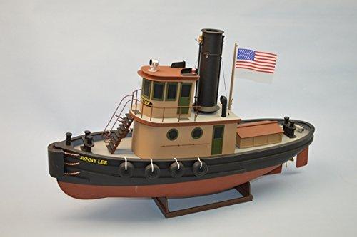 Dumas #1268 Jenny LEE Harbor Tugboat Model Ship Kit Scale 1:32