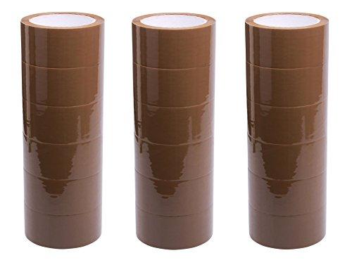 18 Rollen Paket Klebeband braun leise Packband Neu Paketklebeband Top PP 66 m