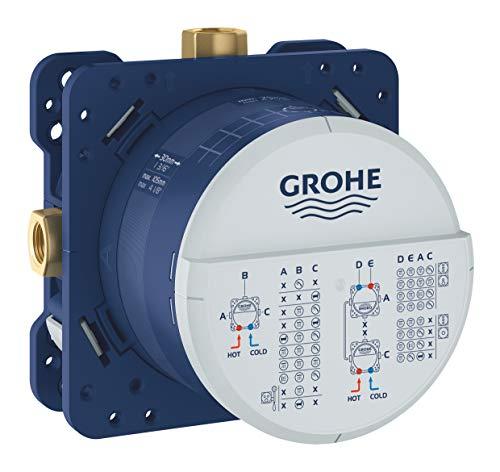 GROHE Rapido SmartBox | UP-Rohinstallation - Unterputz-Einbaukörper | 3 Abgänge 1/2 Zoll | 35600000