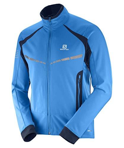 SALOMON R Warm Softshell JKT M Schnee Skibekleidung, Herren, Rs Warm Softshell JKT M, Hawaiian, Small
